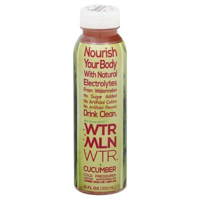 Wtrmln Wtr Juice, Cucumber, Cold Pressured