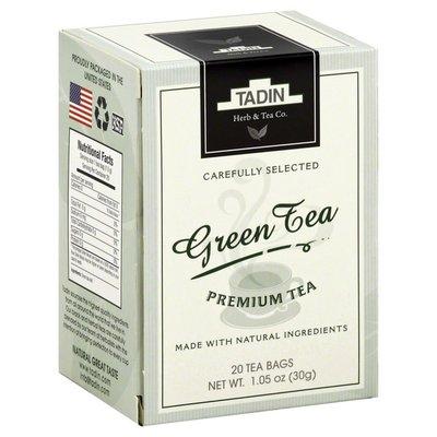 Tadin Tea, Premium, Green Tea, Box