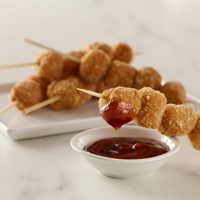 Morning Star Farms Meatless Popcorn Chicken, Plant Based Protein Vegan Meat, Frozen Meal, Original