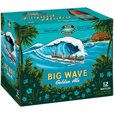 Kona Brewing Company Big Wave Golden Ale, Bottles