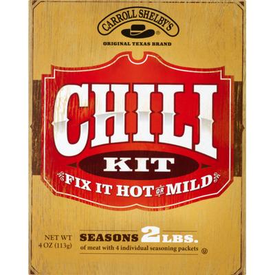 Carroll Shelby's Chili Kit