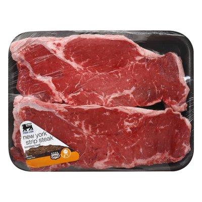 Food Lion USDA Choice Beef Thick Cut New York Strip