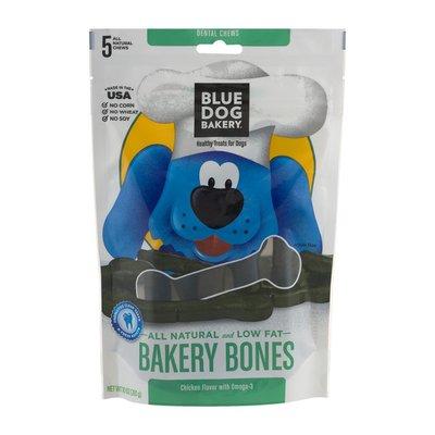 Blue Dog Bakery Dental Chews Bakery Bones Chicken - 5 CT