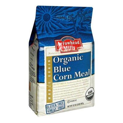 Arrowhead Mills Cornmeal, Gluten Free Organic, Blue