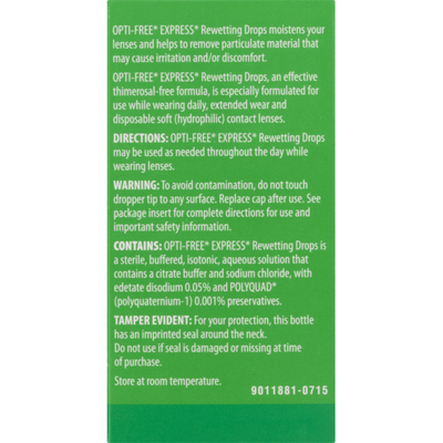 OPTI-FREE Rewetting Drops, Economy Size