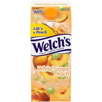 Welch's White Grape Peach Juice Cocktail