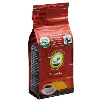 Growers Coffee, Ground, Medium to Dark Roast, Guatemalan