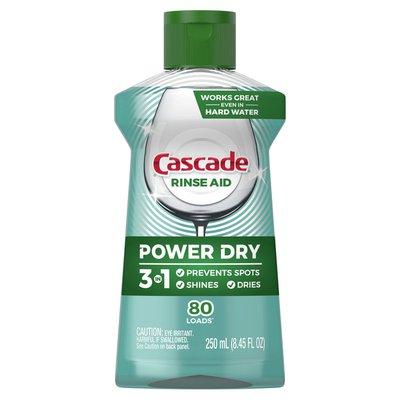 Cascade Platinum Dishwasher Rinse Aid