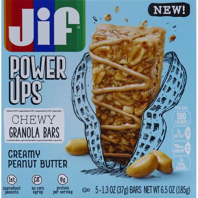 Jif Granola Bars, Chewy, Creamy Peanut Butter