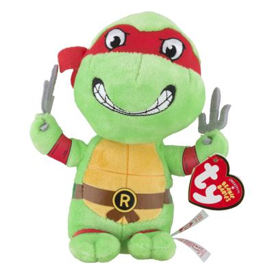 ty Beanie Babies Nickelodeon Teenage Mutant Ninja Turtles Raphael