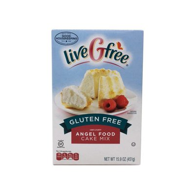 liveGtree Light & Fluffy Angel Food Cake Mix