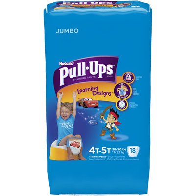 Pull-Ups Learning Designs for Boys 4T-5T Training Pants