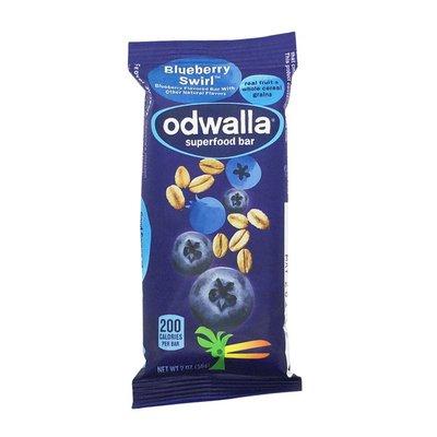 Odwalla Nourishing Food Bar, Original, Superfood, Blueberry Swirl