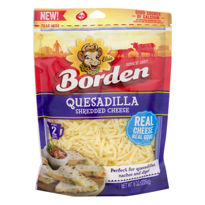 Borden Shredded Cheese Quesadilla