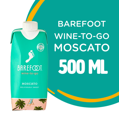 Barefoot Barefoot-To-Go Moscato White Wine Tetra