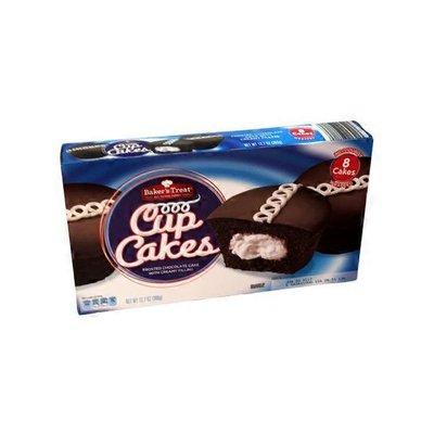 Baker's Treat Chocolate Cupcakes