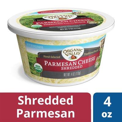 Organic Valley Organic Shredded Parmesan Cheese