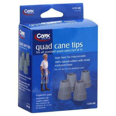 Carex Quad Cane Tips, 5/8 Inch