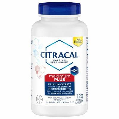 Citracal Calcium Citrate, +D3, Maximum, Coated Caplets