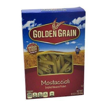 Golden Grain Mostaccioli Pasta