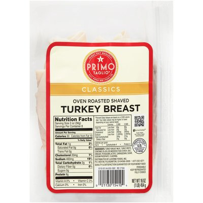 Signature Kitchens Classics Oven Roasted Shaved Turkey Breast