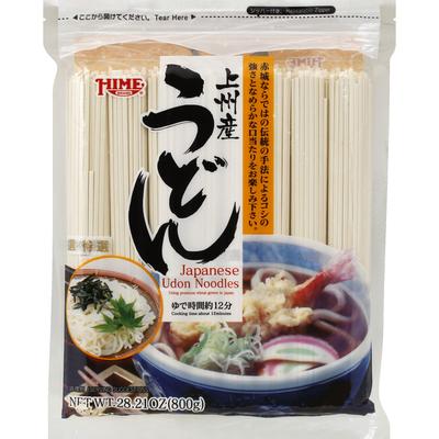 Hime Noodles, Japanese Udon