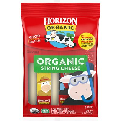 Horizon Organic Mozzarella Organic String Cheese Sticks