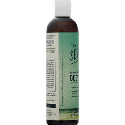 The Seaweed Bath Co. Body Wash, Hydrating, Cleansing, Unscented