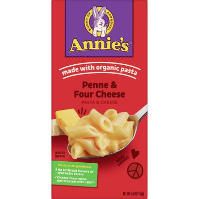Annie's Four Cheese Macaroni and Cheese