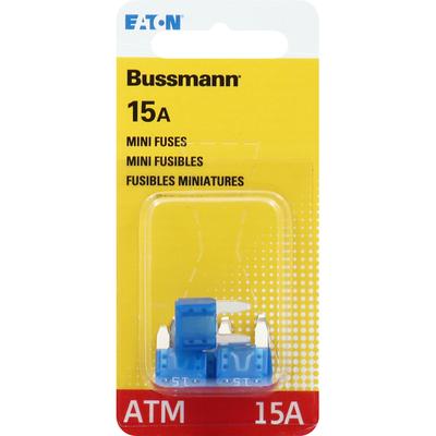 Bussmann Fuses, Mini, 15A