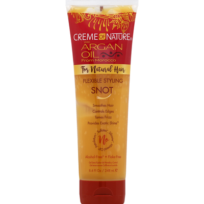 Creme of Nature Flexible Styling Snot, with Argan Oil from Morocco, for Natural Hair
