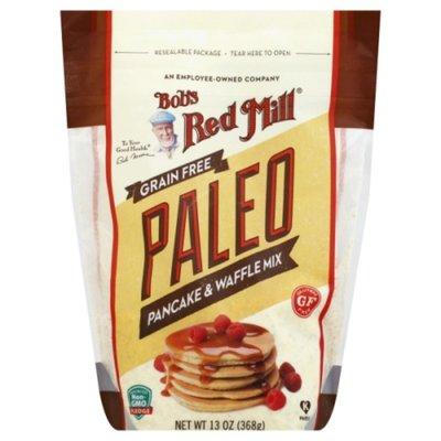 Bob's Red Mill Pancake & Waffle Mix, Grain Free, Paleo