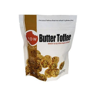 WOW Baking Company Gluten Free Cookies, Butter Toffee