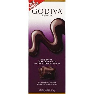 Godiva Dark Chocolate, 72% Cacao