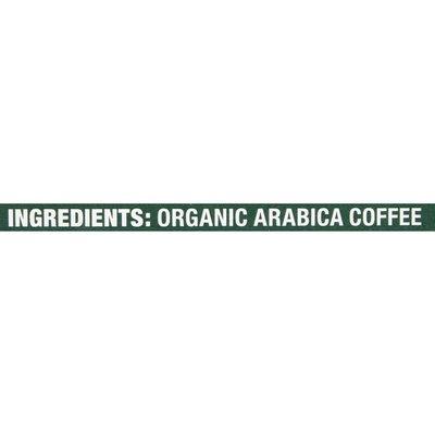 Peet's Coffee Organic French Roast, Dark Roast Ground Coffee, Bag