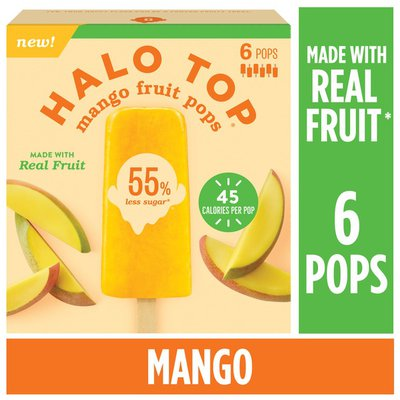 Halo Top Mango Fruit Pops
