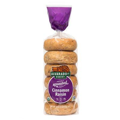 Alvarado Street Bakery Sprouted Cinnamon Raisin Bagels