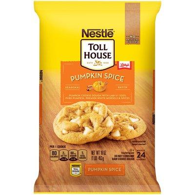 Toll House NESTLE  Pumpkin Spice Cookie Dough