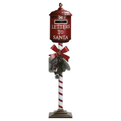 Mercuries Asia Postbox, Christmas, 51 Inch
