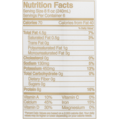 Ripple Pea Milk, Nutritious, Unsweetened Original