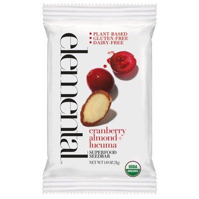 Elemental Superfood Cranberry Almond, Lucuma Superfood Seedbar
