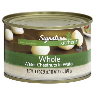 Signature Select Whole Water Chestnuts In Water