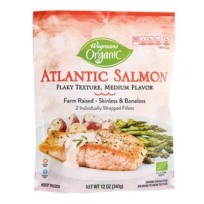 Wegmans Organic Atlantic Salmon