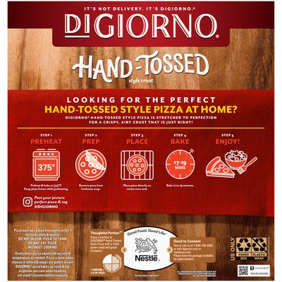 DiGiorno Pepperoni Frozen Pizza on a Hand-Tossed Style Crust