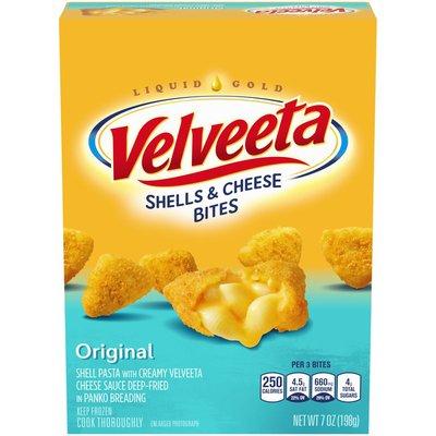 Kraft Velveeta Original Shells & Cheese Bites Frozen Snacks