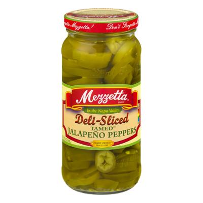 Mezzetta Jalapeno Peppers, Sliced Tamed, Medium Heat