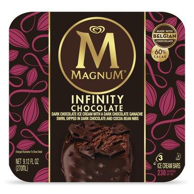 Magnum Ice Cream Bars Infinity Chocolate