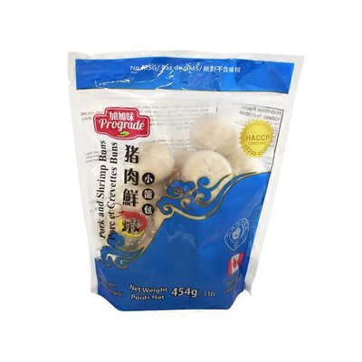 Prograde Pork & Shrimp Bun
