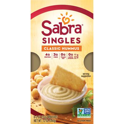 Sabra Singles Classic Hummus