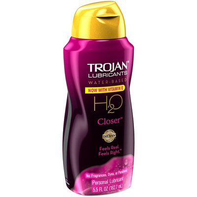 Trojan H20 Closer Water-Based Personal Lubricant